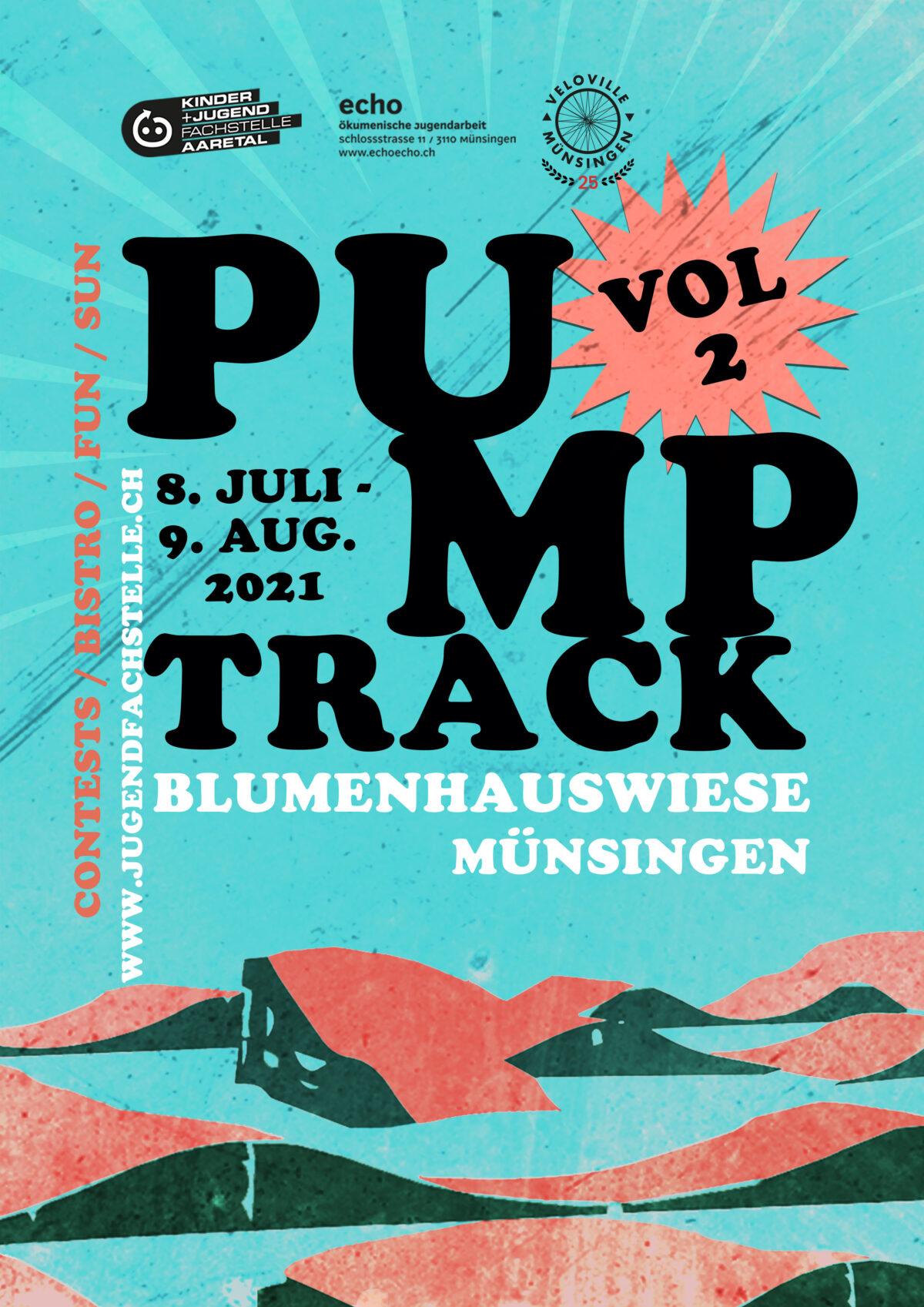 Pumptrack Münsingen 2021